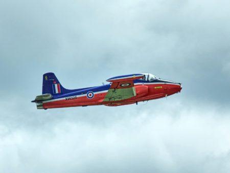 Jet flight - jet in flight