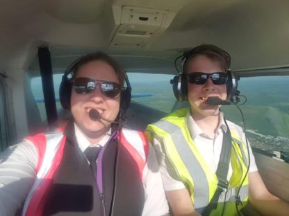 Flying Lessons | 2 Seater Place product feature image