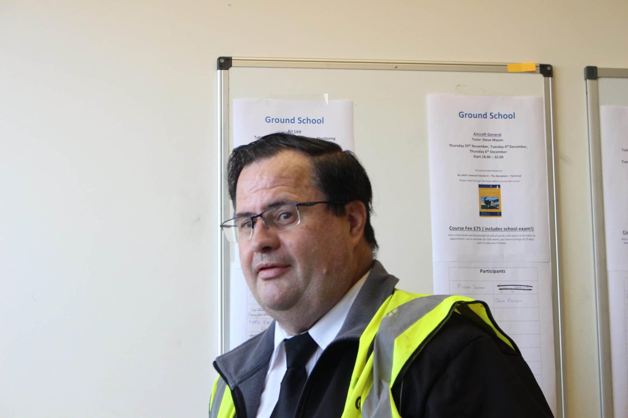 Profile pic of Ian Gerrard - flight instructor